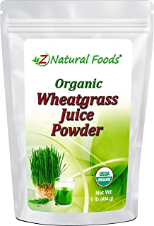 Organic Wheatgrass Juice Powder - Ultra Concentrated Green Nutrition - Incredible Superfood for Shots, Smoothies, Shakes, ...