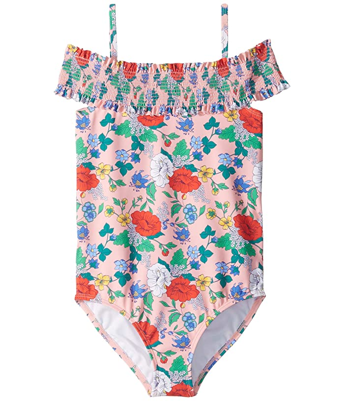 8b5309f1380be Janie and Jack Smocked One-Piece Swimsuit (Toddler/Little Kids/Big Kids)