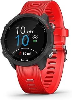 Garmin Forerunner 245 Music Rubber Smart Watch (Red)