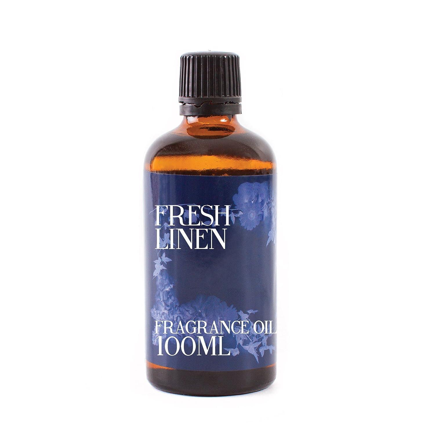 偽造背骨クレデンシャルMystic Moments | Fresh Linen Fragrance Oil - 100ml