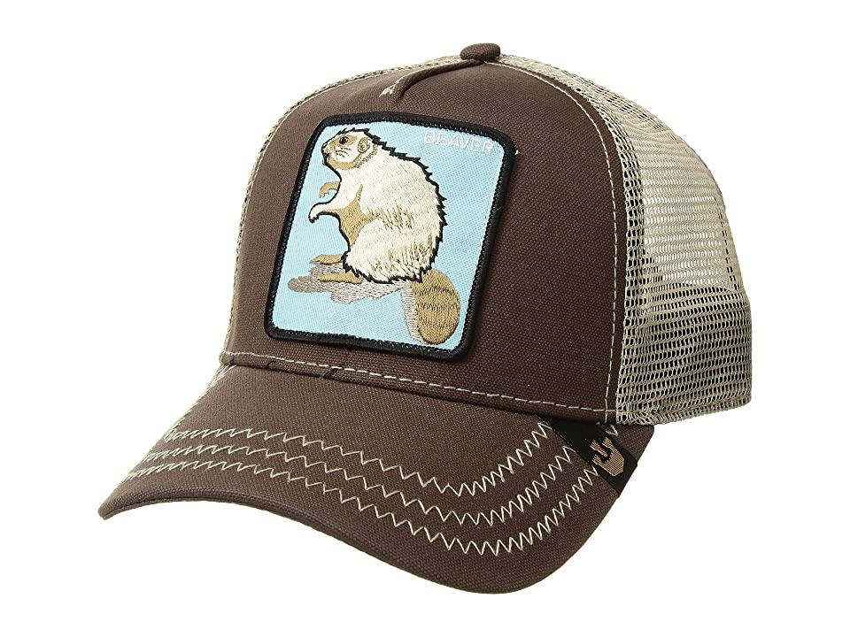 b1be3d46113bd ... UPC 090625056582 product image for Goorin Brothers - Animal Farm Beaver  (Brown) Baseball Caps