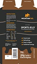 Mountain Fuel Cola Sport Jelly with Electrolytes Natural Caffeine 6 Pack Estimated Price : £ 10,00