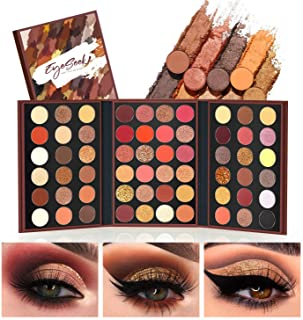 EYESEEK Eyeshadow Palette Glitter Pro 60 Colors Matte Shimmer Eye Shadow All In One Makeup Palette High Pigmented Metallic...