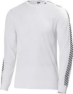 Helly Hansen Uomo Long Sleeve T-Shirt HH Lifa Stripe Crew