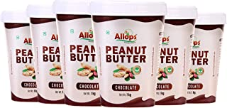 Allops Chocolate Peanut Butter 100% Veg. (6)