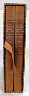 The Original Water-Color Paintings by John James Audubon for the Birds of America (2 Volume Box Set)