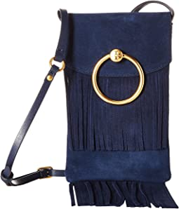 3a00d6b6d39 Royal Navy. 37. Tory Burch. Farrah Fringe Phone Crossbody