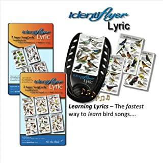 Identiflyer Lyric 140 Birds & Frogs Kit Includes Machine, 3 & 2 Cards set