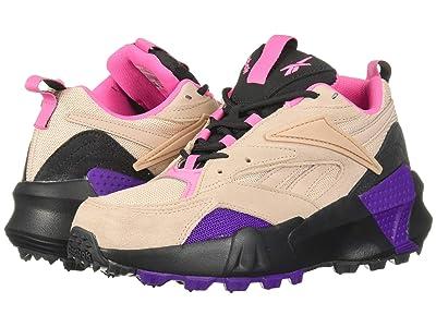 Reebok Lifestyle Aztrek Double Mix Trail (Buff/True Grey/Regal Purple) Women