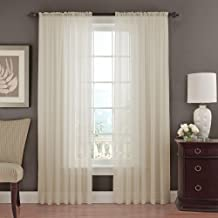 VUE SIGNATURE Sheer Curtains for Bedroom - Chiffon 52
