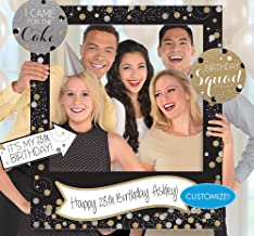 Amscan 399645 Sparkling Celebration Customizable Giant Photo Frame childrens-party-supplies, 35