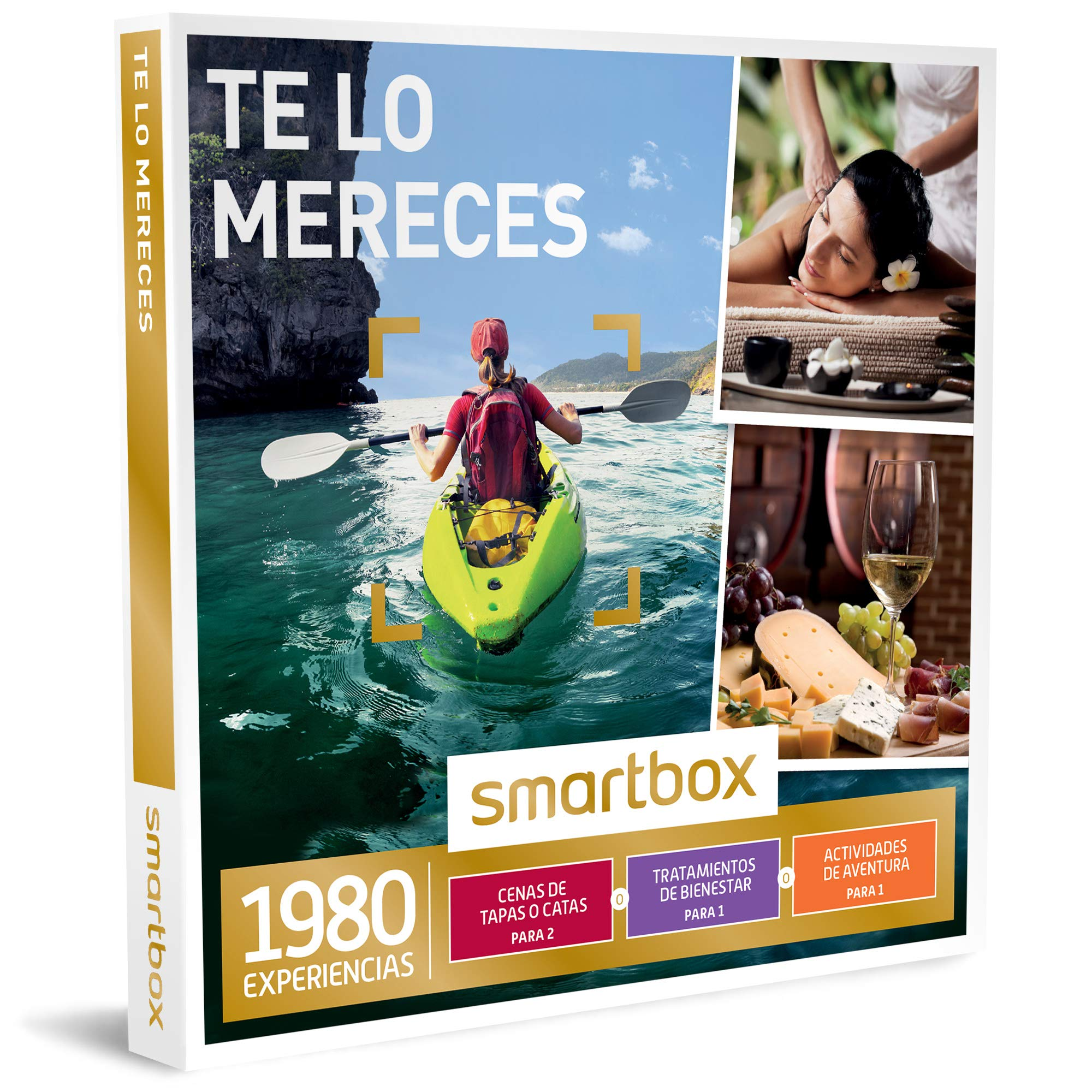 Smartbox - Caja Regalo - TE LO MERECES - 1980 experiencias ...