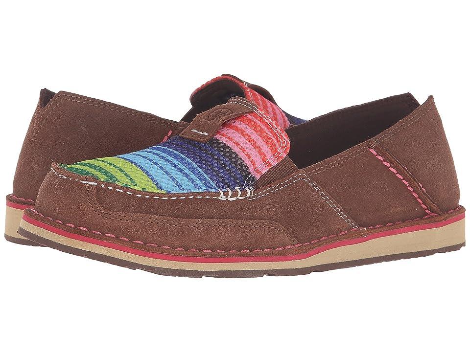 619987767fcd Ariat Cruiser (Palm Brown Serape Mesh) Women s Slip on Shoes