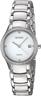 ROBERTO BIANCI WATCHES Women's 'Balbinus' Quartz Stainless Steel Casual Watch, Color:Two Tone (Model: RB2943)