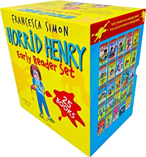 Horrid Henry Early Reader Set 25 Books Collection Box Set by Francesca Simon