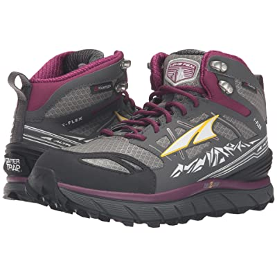 Altra Footwear Lone Peak 3 Mid Neoshell (Gray/Purple) Women