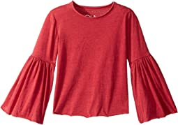 Chaser Kids - Super Soft Tee with Flared Sleeves (Toddler/Little Kids)