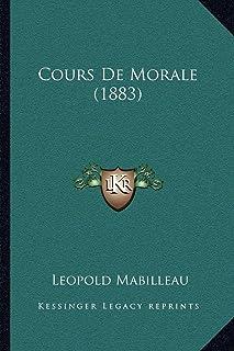 Cours de Morale (1883)