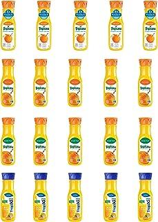LUV BOX - Variety Tropicana Pure Premium Juice Pack 12oz Plastic Bottle, 20 pk, Orange Juice No Pulp Vitamin C & Zinc, Trop 50 Orange Juice with Calcium, Original Orange Juice,Home Style Orange Juice