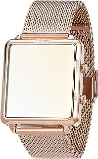 Relógio, Digital, EURO, EUJHS31BAN/4D, feminino, Rosé