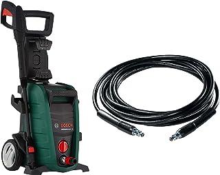 Bosch Aquatak 130 1700-Watt High Pressure Washer (Green) with F016800360 6m High Pressure Hose (Black) Combo