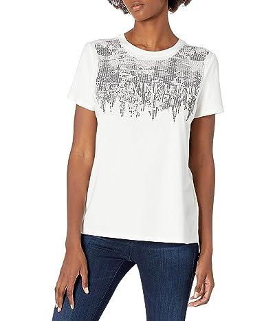 Calvin Klein Short Sleeve Top With Logo
