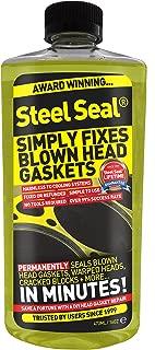 Steel Seal Blown Head Gasket Fix Repair Sealer - 4 Cylinder