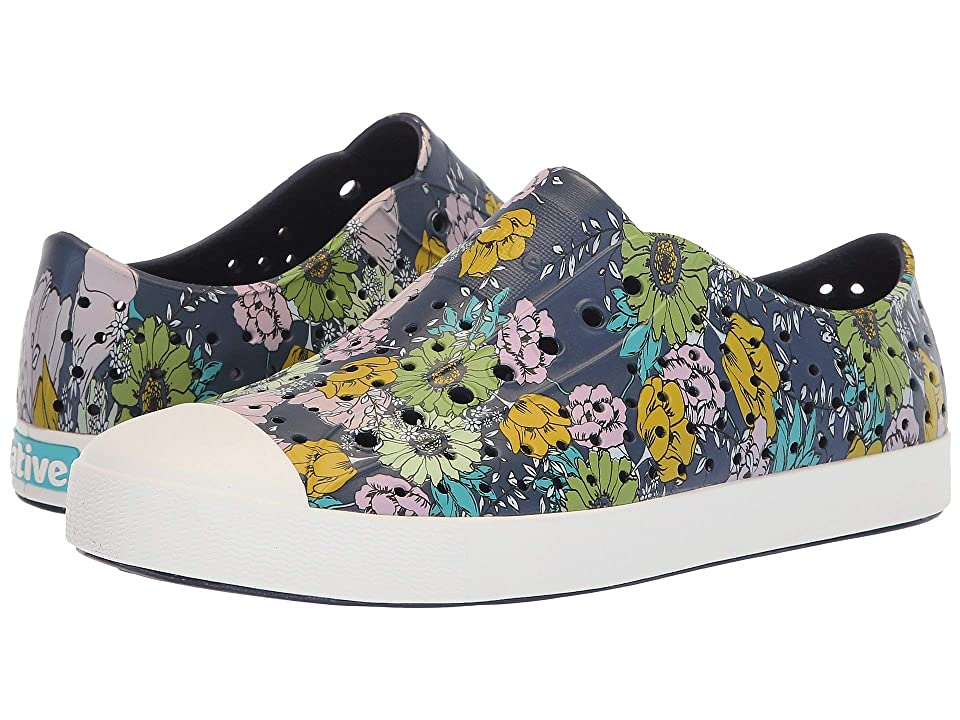 Native Shoes Jefferson (Regatta Blue/Shell White/Jardin) Shoes