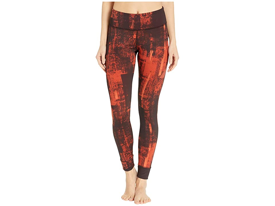 Reebok Combat Tights (Burnt Amber) Women