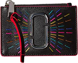 Snapshot Confetti Top Zip Multi Wallet