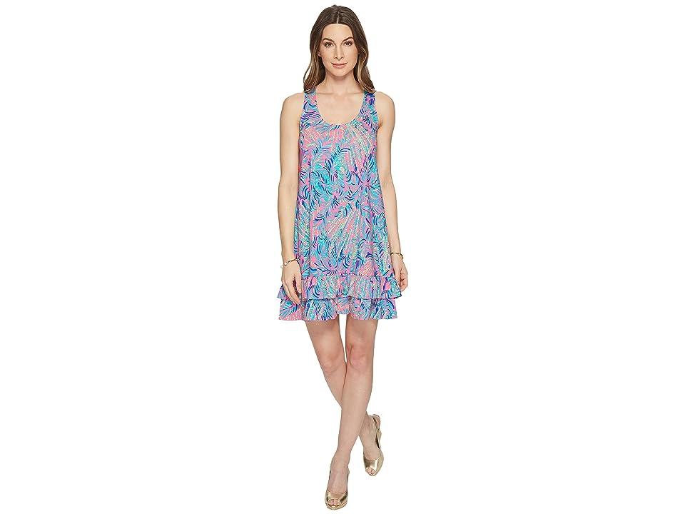 Lilly Pulitzer Evangelia Dress (Pink Sunset Coco Breeze) Women