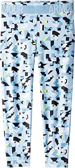 Armour HeatGear® Printed Ankle Crop (Big Kids)
