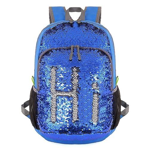 5747a2ff2b4e Bekahizar 20L Ultra Lightweight Backpack Foldable Hiking Daypack Rucksack  Water Resistant Travel Day Bag for Men