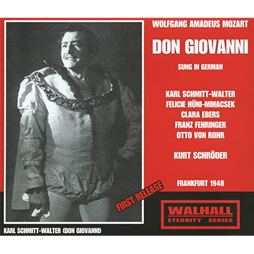 Mozart: Don Giovanni, K. 527 (Sung in German) [Recorded 1948