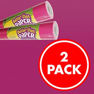 Hot Pink Better Than Paper Bulletin Board Roll 2-Pack