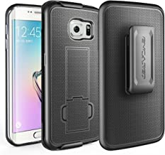 Encased Case & Belt Clip Designed for Samsung Galaxy S6 Edge Plus Slim Grip Holster - Black