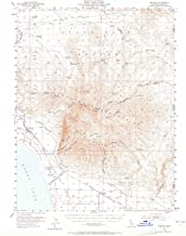 YellowMaps Wendel CA topo map, 1:62500 Scale, 15 X 15 Minute, Historical, 1954, Updated 1965, 20.7 x 16.6 in