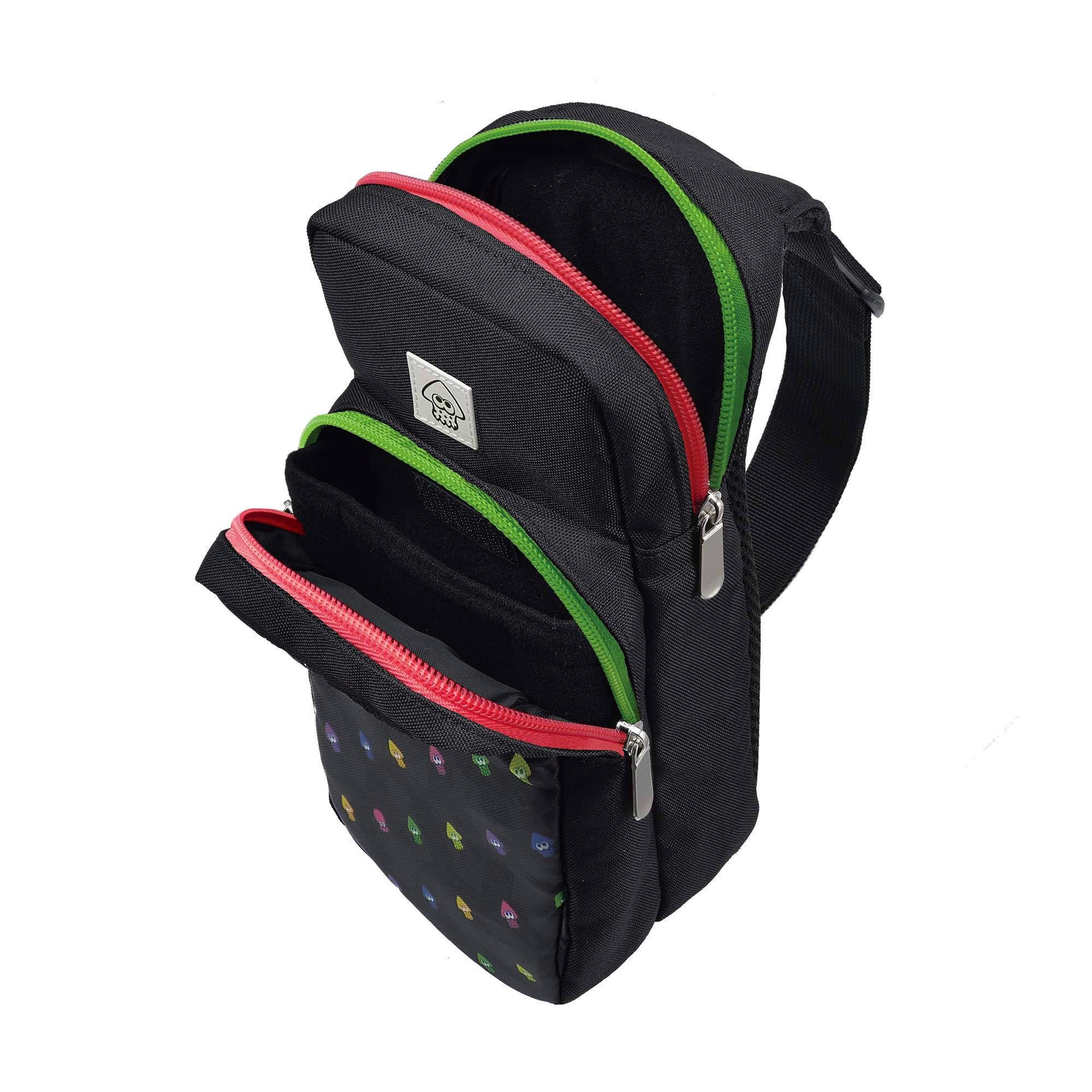 Hori Nintendo Licensed Product Splatoon 2 Backpack Shoulder Pouch Bandolera Bolso Bolsa de Hombro For Nintendo Switch: Amazon.es: Juguetes y juegos