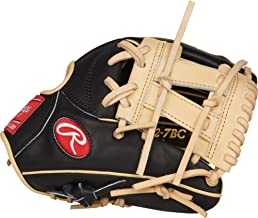 """Rawlings PROR882-7BC Heart of the Hide - R2G, Black/Camel, 11.25"""""""