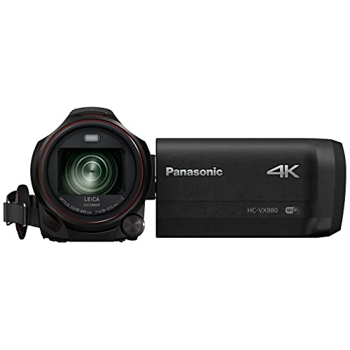 Panasonic HC-VX980 Camescopes Classique Zoom Optique 20 x 18.91 Mpix