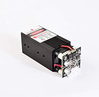 Blue Laser Module 450nm 4W Focusable for 3D Printer/CNC Engraving/Laser Engraving (4W)