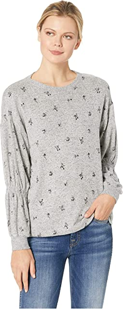 Avah Ruched Long Sleeve Pullover