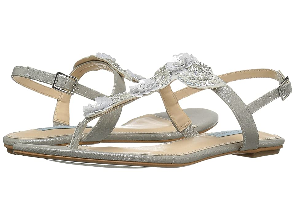 Blue by Betsey Johnson Camil (Silver Shimmer) Women
