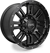 Partsynergy Replacement For 17 Inch Matte Black Wheel Rim 6x135 6x139.7mm Fits Ford Chevy GMC Toyota