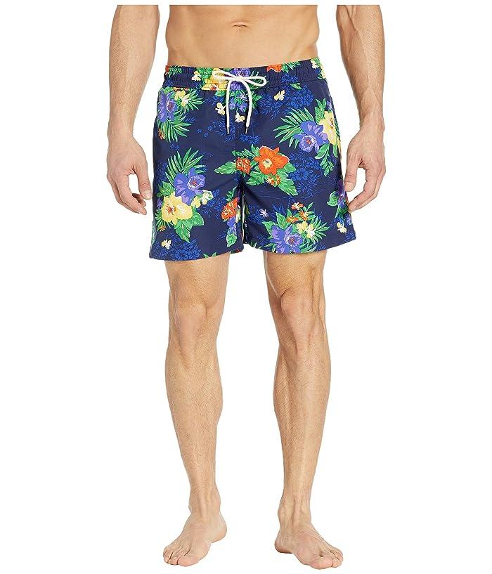 Polo Ralph Lauren Traveler Swim Trunks (Carribean Floral) Men