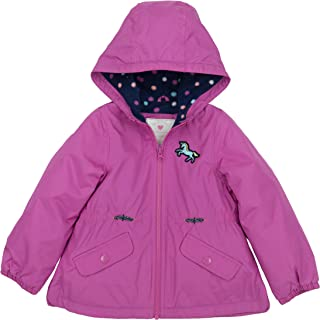 Baby Girls' Midweight Fleece Lined Anorak Jacket
