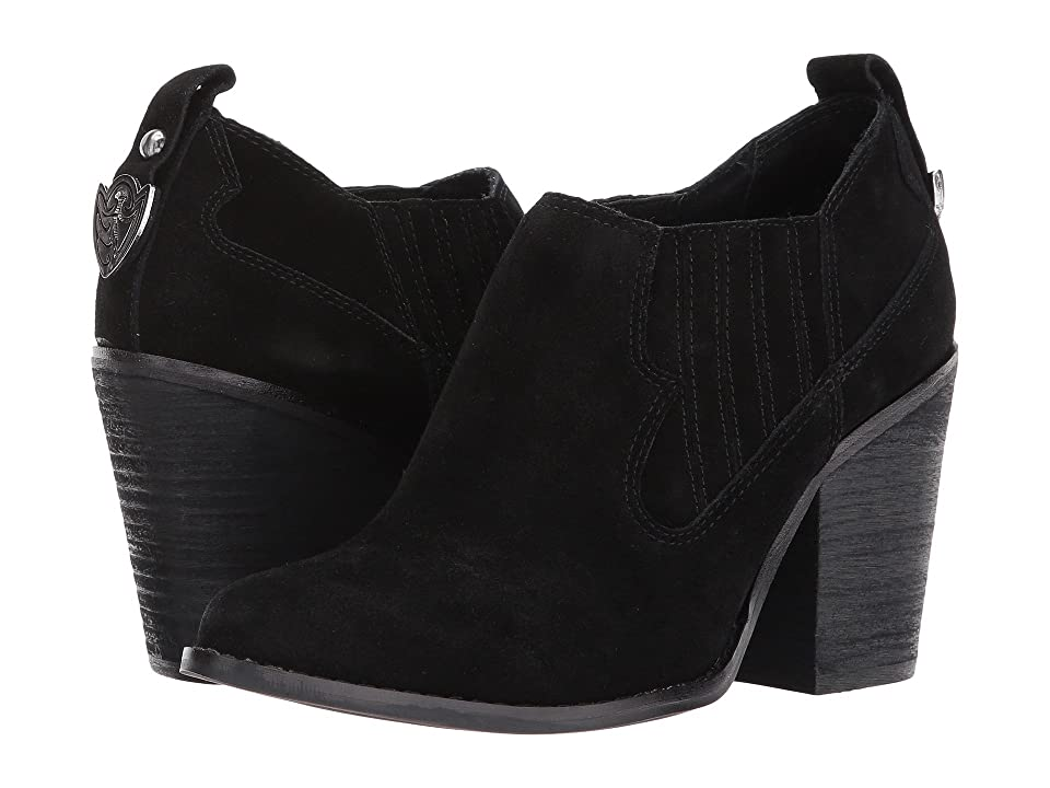 Chinese Laundry Sonoma Bootie (Black Suede) Women