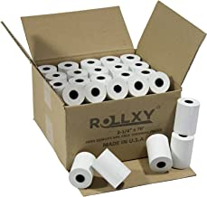100 Rolls of Thermal Paper 2 1/4'' by 70' Verifone VX520 First Data FD400 Nurit 8000 8020 STP103 by PosPaperRoll