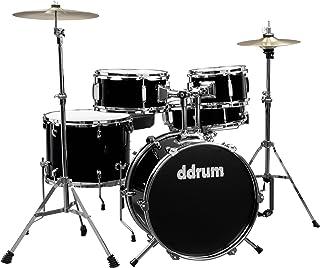 Ddrum D1 Junior - Batería con platillos, color negro