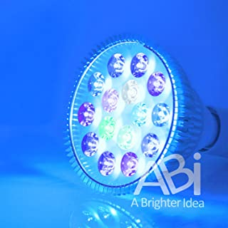 ABI 12W Tuna Blue LED Bulb Coral Reef Optimized Spectrum PAR38